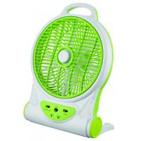 Quality 10 Inch Multifuction Electric Rechargeable Fan With Mobile Phone Charger for sale