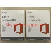 Quality The Latest Microsoft Office Professional Plus 2016 Retail Key Online Activate for sale