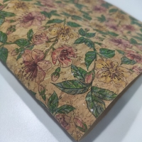 China Bag Shoes Biodegradable 1.2mm 52/53 Printed Cork Fabric on sale