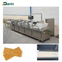 Quality Granola Bar / Muesli Bar / Cereal Snack Bar Cutting Machine Full Line Stainless Steel for sale