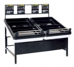 Quality Steel fruit vegetable supermarket shelving rack goods shelf for sale