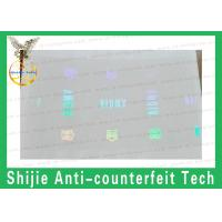 Quality Competitive price strict quality control adhesive FL,RI  Hologram overlay Safety shipping for sale