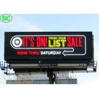 Quality Ultra Thin RGB P6 P8 IP65 Led Advertising Billboards With 8 Years Warranty for sale