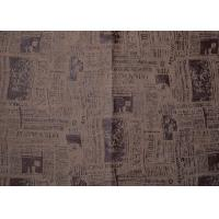 Buy Sofa Printed Micro Suede Fabric Microsuede Upholstery Washable at wholesale prices