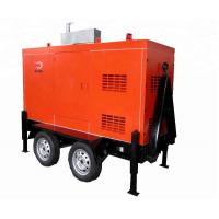 Buy Silent Mobile Diesel Generator 1500/  1800rpm Speed Brushless Excitation Smartgen Control at wholesale prices
