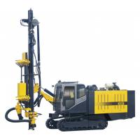 Quality High pressure limestone quarry rotary drilling rig with cab energy saving for sale