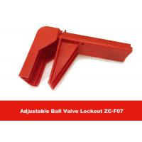 Quality 326G Durable Plastic Flame-retardant Material Valve Lock Out , English Labels is Available for sale