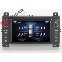 Quality Jeep Grand Cherokee Dvd Player , Double Din Car Stereo With Gps And Bluetooth for sale