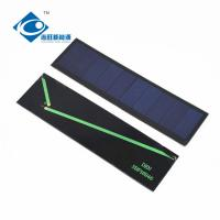 China 0.1KG 0.5 Watt Solar Panel , Low Voltage Solar Panel Glass And Plastic Frame ZW-16946P on sale