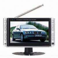 Quality 7-inch Color LCD TV with USB Jack, SD/MMC Card Reader and Power Consumption of 8W for sale
