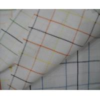 Quality Jacquard Cotton Fabric Yarn Dyed Stripe Pattern for sale