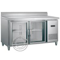 OP-A602 Kitchen Equipment Glass Doors Display Chest Refrigerator