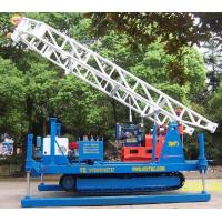 Buy cheap Electric Crawler Mounted Engineering geological exploration Drill Rig from wholesalers
