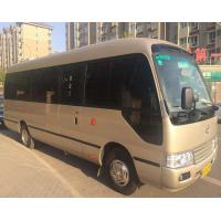 Quality 100% Original Used Toyota Coaster , Japanese Used Buses With 23 Seats for sale