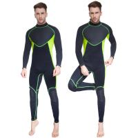 Buy men long sleeve 3MM neoprene Colorful Nontoxic surfing diving wet suit at wholesale prices
