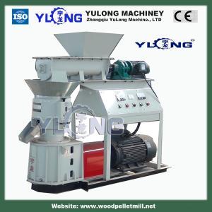 Quality 300-500kg/h diesel pellet press for alfalfa for sale