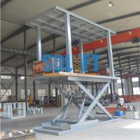 Quality 5T Double Plarform Scissor Lift for 2 Car Parking Double Deck Car Parking System for sale