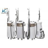 Quality Vacuum Roller Hifu Slimming Machine 4 Treatment Spot Sizes White / Brown for sale