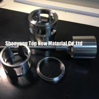 Quality CNC Machining Fisher Control Valve Seat Parts Inserts Silver And Grey Color for sale