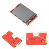 China 3.2 inch 240x320 TFT LCD Display Module Touch Panel Drive IC ILI9341 PCB Adpater SPI Interface on sale
