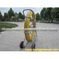 Quality Easy to operate Laying cables in duct Continuous duct rod for sale