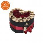 Quality 2019 new luxury custom eternal heart rose flower gift box made of paper for sale