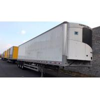 Quality 13m 40 Ft Refrigerated Trailer , Air Suspension Refrigerated Enclosed Trailer for sale