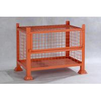 Quality IBC Steel Mesh Storage Cages / Metal Cage Storage Units For Products Storage for sale