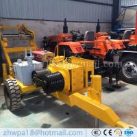 Quality Easy to operate Hydraulic puller with tensioner Cable Hauling Equipment for sale