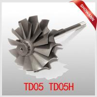 Buy cheap Turbine wheel and shaft for Mitsubishi TD05H 16G 18G Turbochargers TD05 49178-30230 from Wholesalers