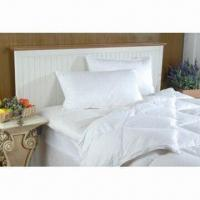 Quality Comfort Bedding Quilt with White Duck Down Filling, Made of 100% Cotton for sale