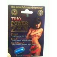 Quality Trio Power Zen Sex Capsules Natural Male Enhancement Pills / Sex Capsule For Long Time for sale
