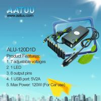 China Best Selling 120W Car Adapter for Laptops -ALU-120D1D on sale