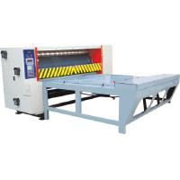 Quality Semiautomatic chain feeder rotary die cutting machine for corrugated carton board for sale