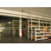 Quality Supply Chain Carton Flow Rack Pallet Racking Shelves Placed Roller / Channel Shaped Bracket for sale