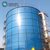 Quality Factory Coated Bolted Steel Leachate Storage Tanks Confirmed To AWWA Standard for sale