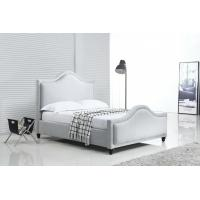 China Silver Crushed Velvet Bed With Diamonds Customized Service OEM Service on sale