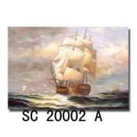 Quality Wall Art Boat Painting, Canvas Painting (SC20002A) for sale