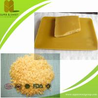 China Food Grade and Pharmacy Natural Beeswax Block&Pellets on sale