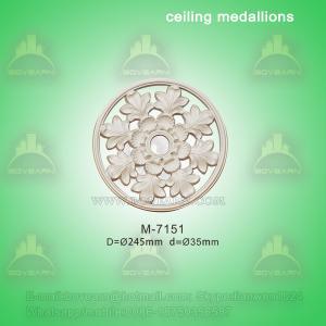 Quality Ceiling Centre Decoration Plaster Of Paris Ceiling Medallions for sale