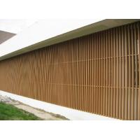 Quality Wall Decorative Column WPC Fence Panels Screen For Villa , Real Estate , House for sale