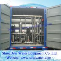Quality 5tph Ro Portable Water Equipment Vehicle Machine for sale