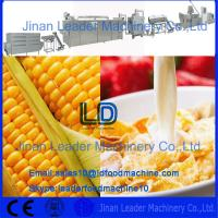 Quality Automatic Breakfast Corn flakes cereals machine,300-400kg/h for sale