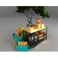 Quality Car Design Bakery Display Racks / Bread Display Showcase Automobile Styling for sale