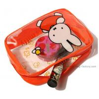 Quality New cute Miffy pvc cosmetic bag / make up bag purse with beautiful printing for sale