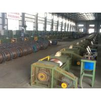 Quality Flux Cored Welding Wire Machine Automatic Production Line PLC Control for sale