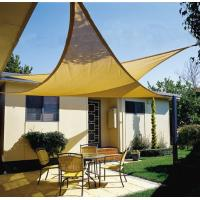China 3.6m Garden outdoor sun shade sails for patios with ropes & fittings on sale