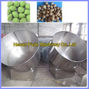 Quality Small type Peanut coating machine, flour coated peanut machine for sale