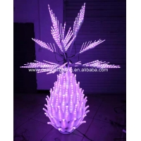 Buy cheap Color Changing Outdoor Led Pineapple Tree from wholesalers