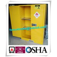 Quality Flammable Industrial Safety Cabinet  , Chemical Storage Containers For Laboratory for sale